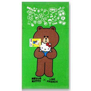 Hello Kitty x Line抱抱童巾