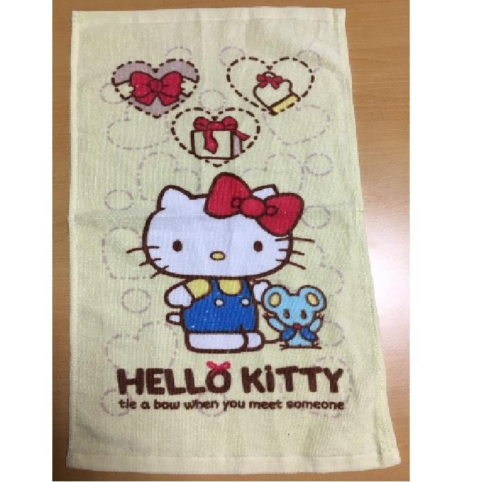凱蒂貓蝴蝶結禮物浴巾
