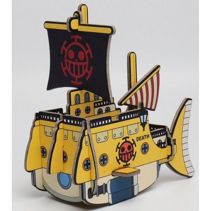 迷你版航海王羅的船號置物架