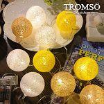 TROMSO- LED溫馨毛線裝飾燈串-暖陽黃