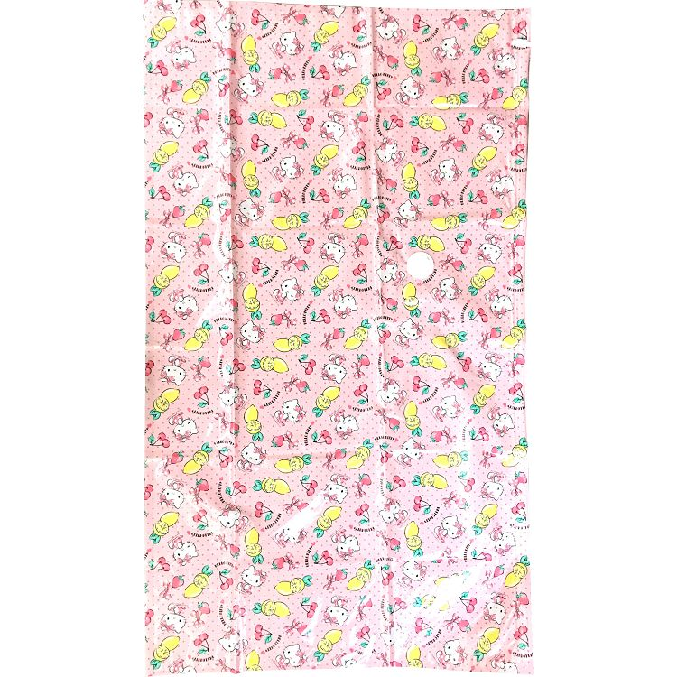Hello Kitty衣類氣閥真空壓縮袋(M)