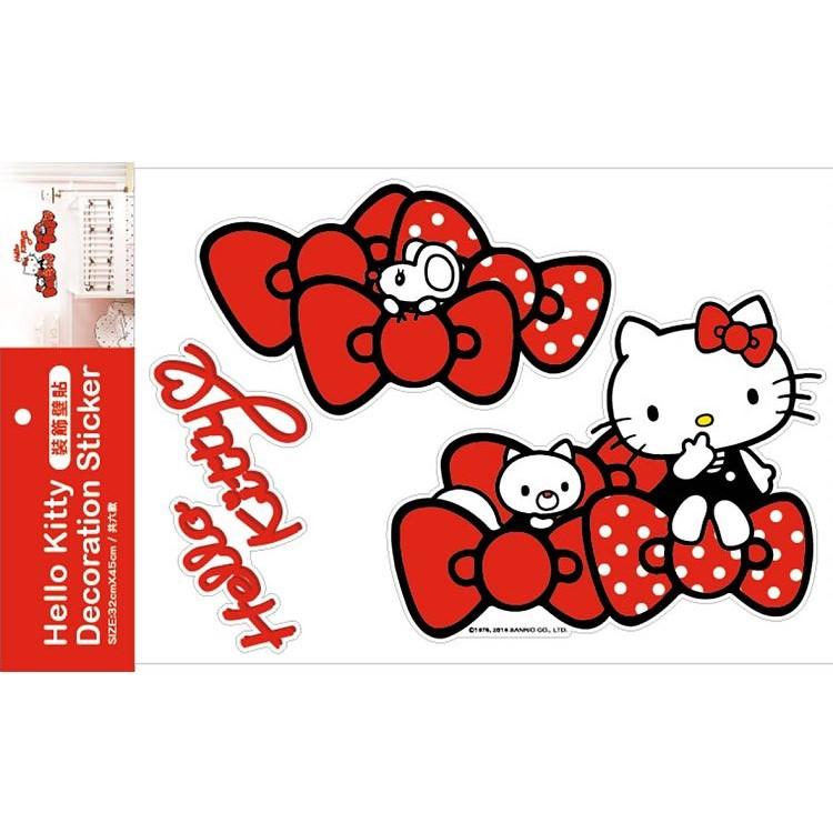 Hello Kitty 裝飾壁貼 SR-ST209