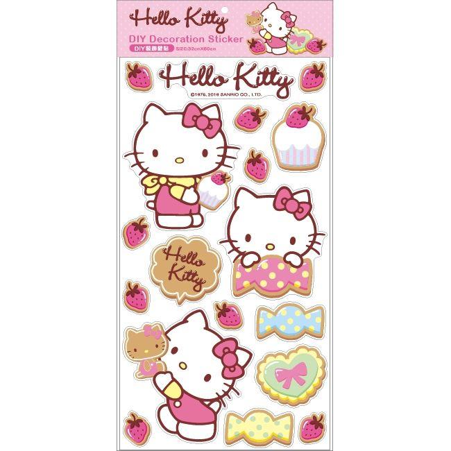 Hello Kitty DIY裝飾壁貼SR-ST289