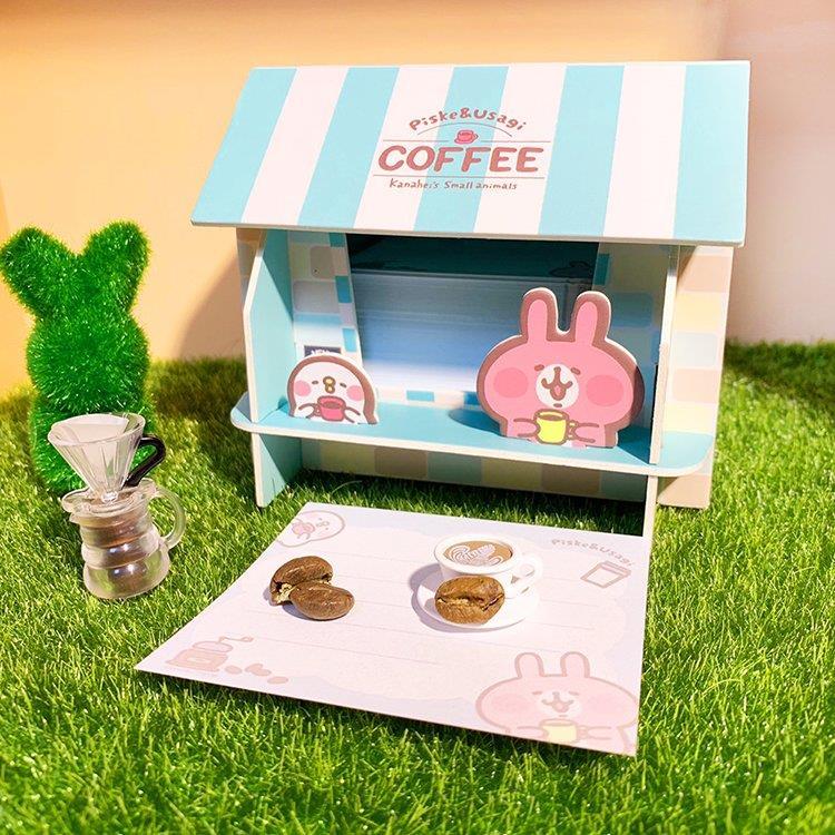 卡娜赫拉的小動物便條紙置物盒(咖啡屋)