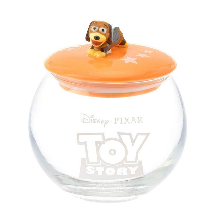 玩具總動員置物罐-慵懶彈簧狗