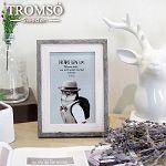 TROMSO 品味時代德克木紋雙色4X6相框-灰木紋