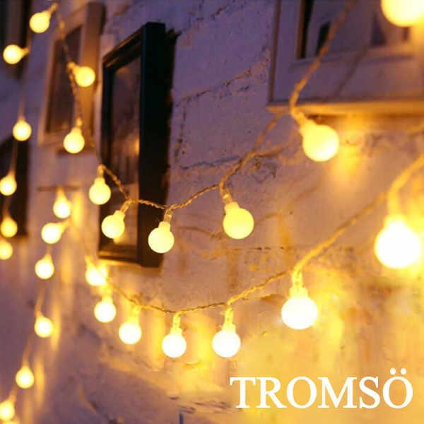 TROMSO-LED樂活布置小泡泡燈串組