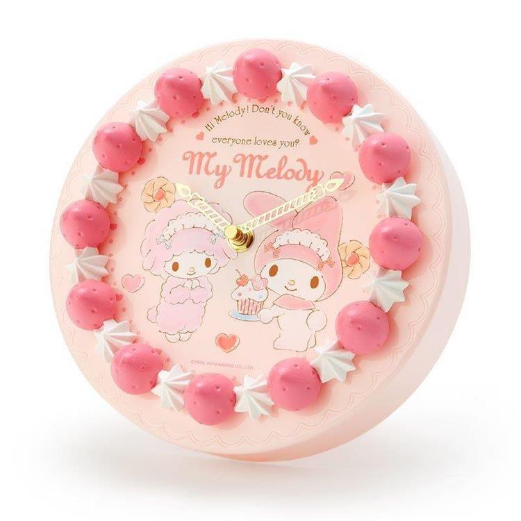 蛋糕型壁鐘-My Melody