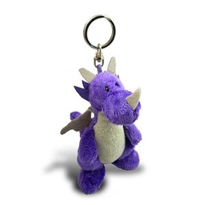 凱蘭崔爾紫龍鑰匙圈