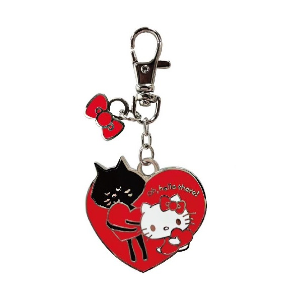 Hello Kitty X NYA-鐵片吊飾