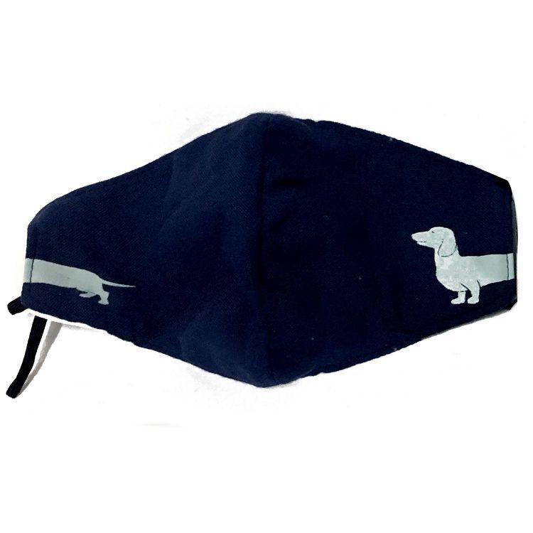 分身狗口罩/深藍