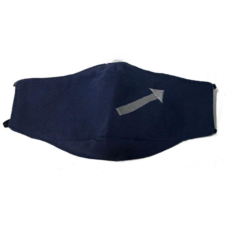 標誌立體口罩/藍色