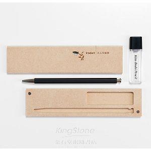 【北星】大人的鉛筆‧彩-黑木質筆盒組