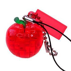 3D立體水晶拼圖-迷你蘋果