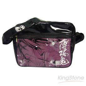 薄櫻鬼-側背包-紫色土方