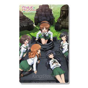 悠遊卡貼紙少女與戰車(2入裝)(1)