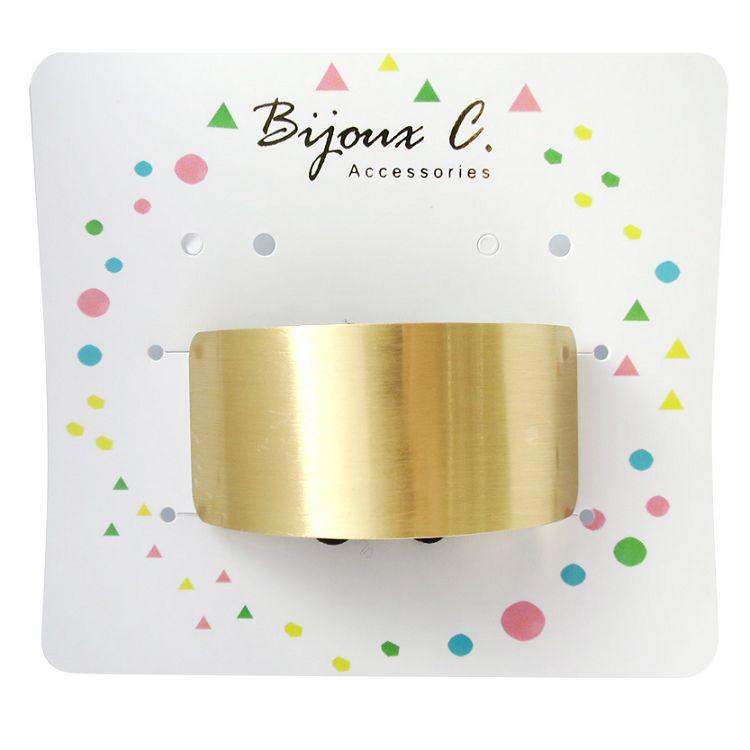 Bijoux C.方形金屬髮束1入