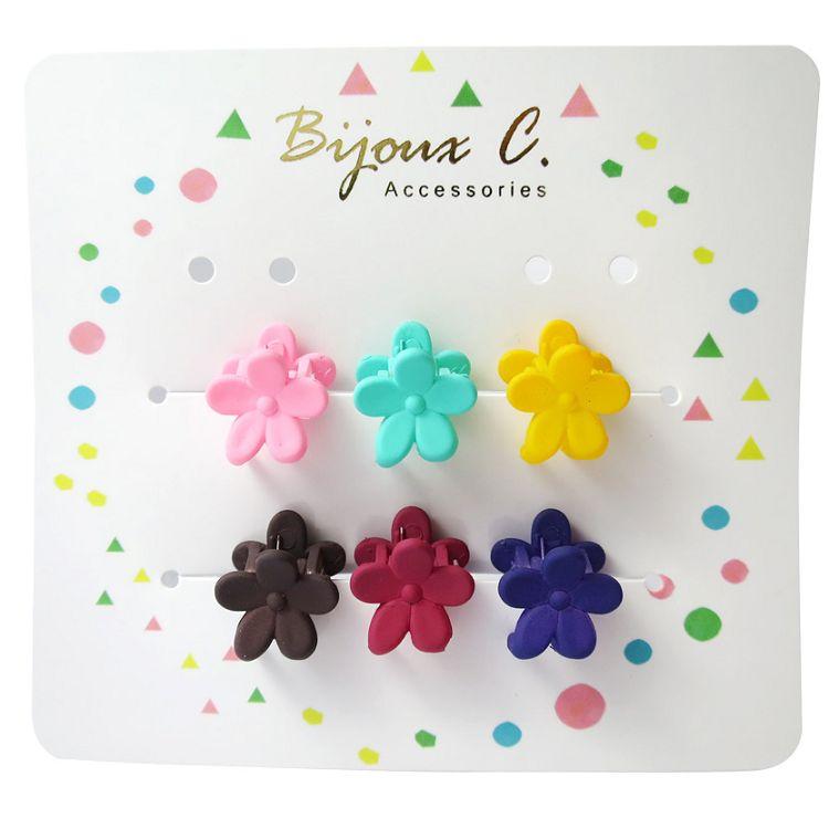 Bijoux C.花花造型小抓夾(A)6入