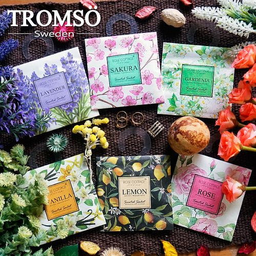 TROMSOX魅力法國-浪漫花香掛勾大香氛包-櫻花