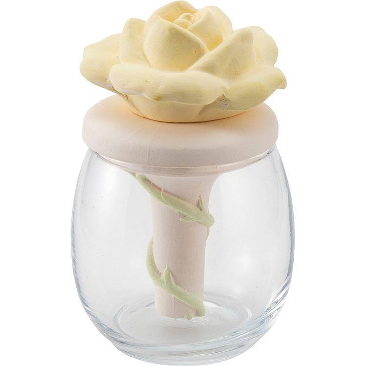 造型擴香瓶-黃玫瑰