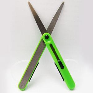 攜帶式筆型便利剪刀/綠