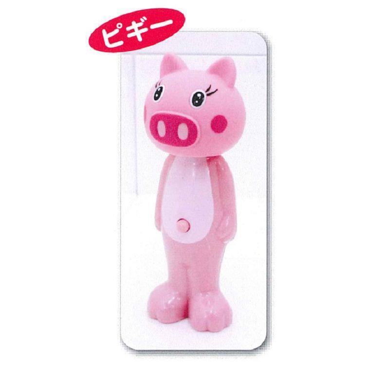 日本U-company兒童牙刷-小豬