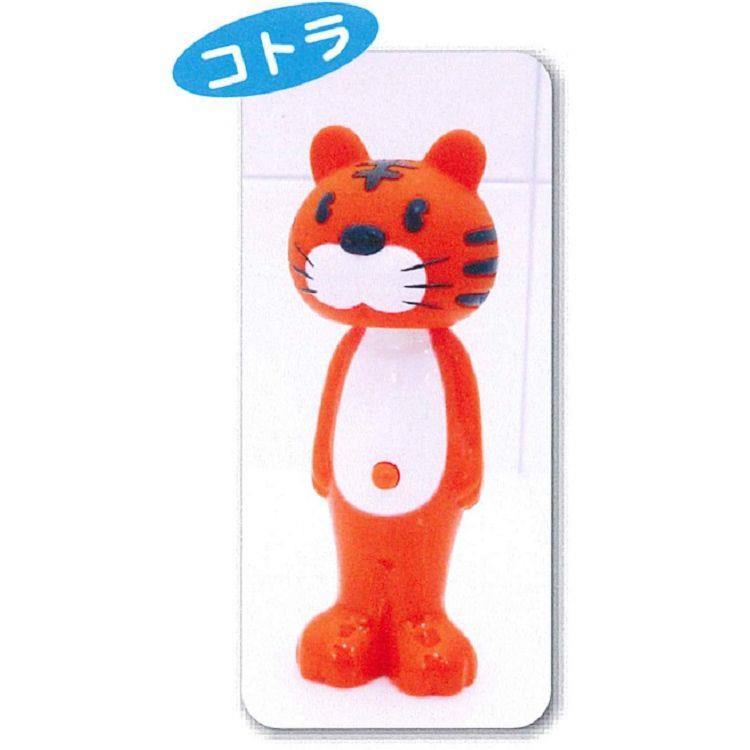 日本U-company兒童牙刷-小虎
