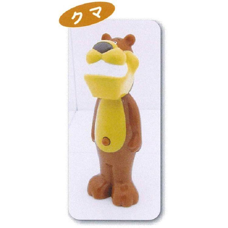 日本U-company兒童牙刷-熊