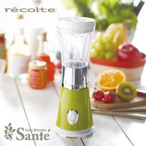 日本麗克特recolte Solo Blender Sante 迷你果汁機 - 青蘋綠