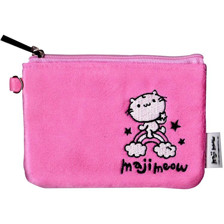 麻吉貓粉紅票夾