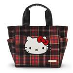 Kitty手提袋-格紋