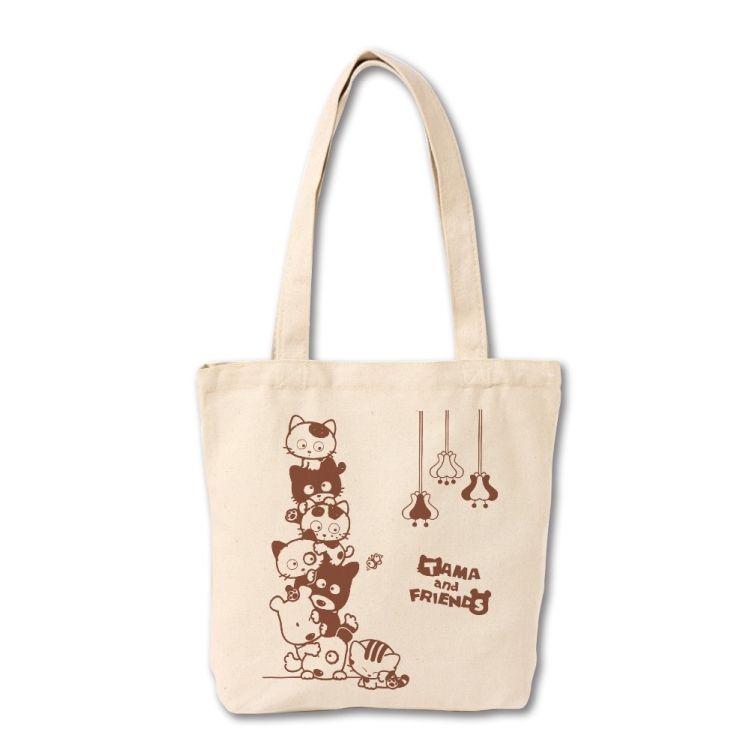 Tama & Friends帆布袋-Tama疊疊樂