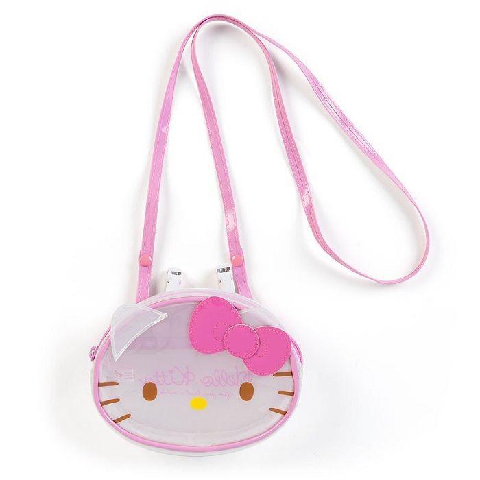 斜背口袋夾包-Kitty造型