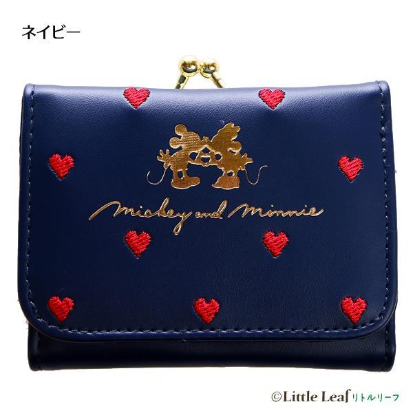 Disney短夾/藍-米奇米妮/相親相愛