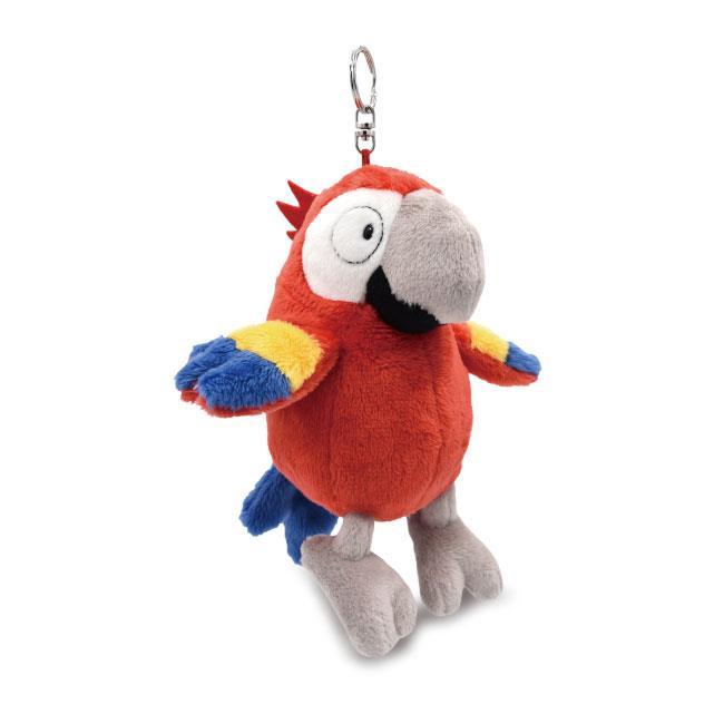 NICI 18cm席爾維鸚鵡零錢包鑰匙圈
