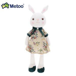 Metoo 45cm提拉米兔雅風版-米色碎花裙