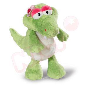 NICI 25cm娜娜鱷魚坐姿玩偶