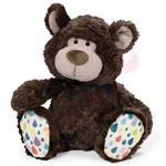 NICI 35cm摩卡熊坐姿玩偶