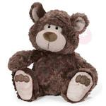 NICI 25cm摩卡熊坐姿玩偶-腳掌