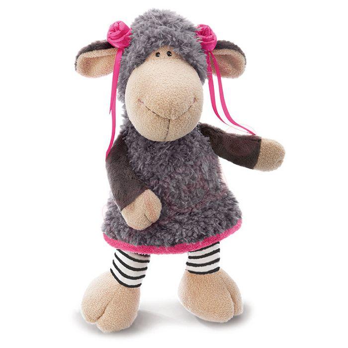 45cm茜兒咩咩羊坐姿玩偶