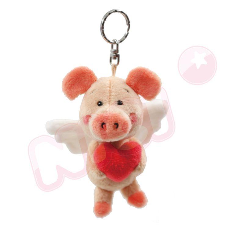 NICI  天使小豬威比鑰匙圈