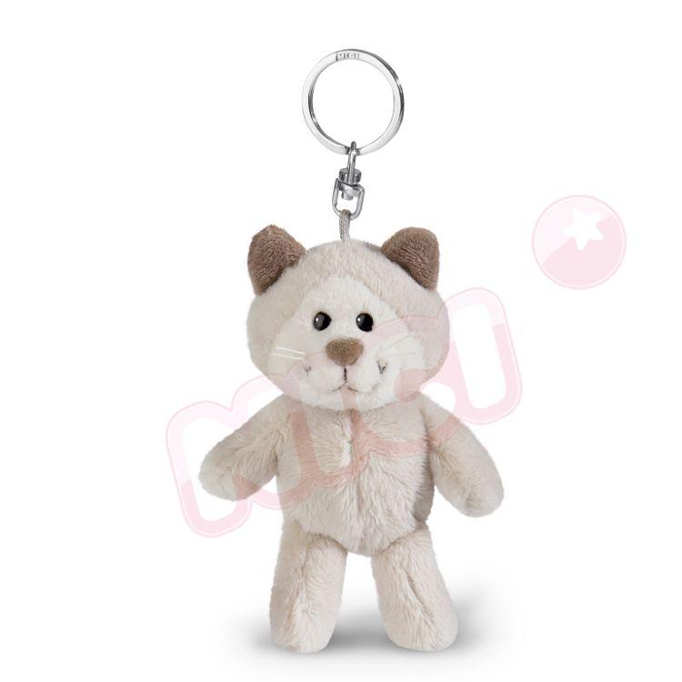 NICI  雪貓男孩鑰匙圈