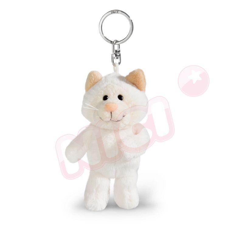 NICI  雪貓女孩鑰匙圈