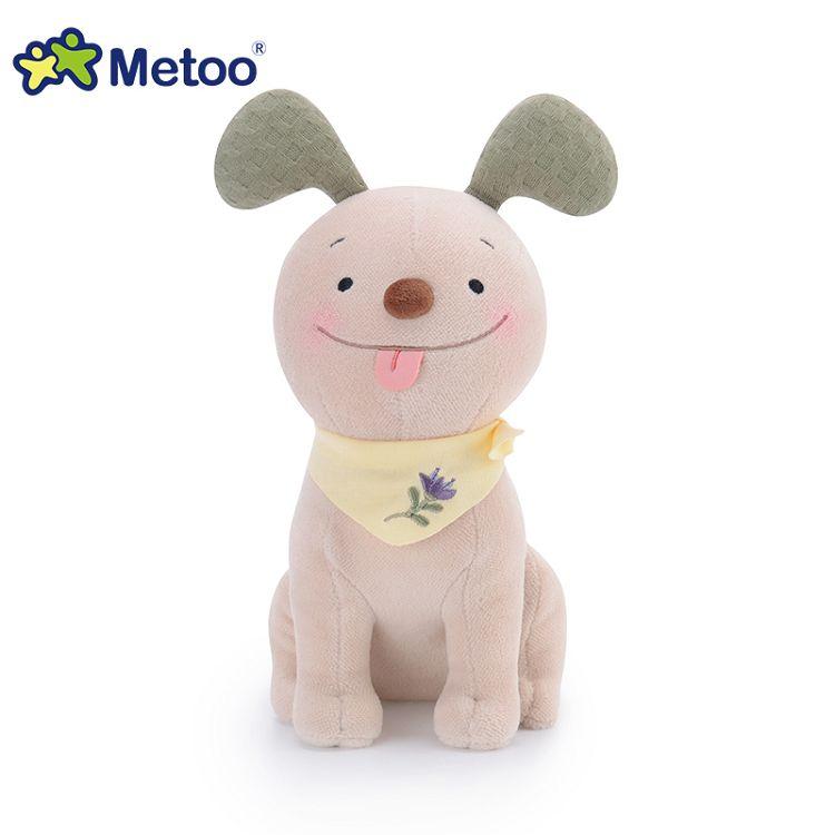 Metoo  25cm波波狗玩偶-綠