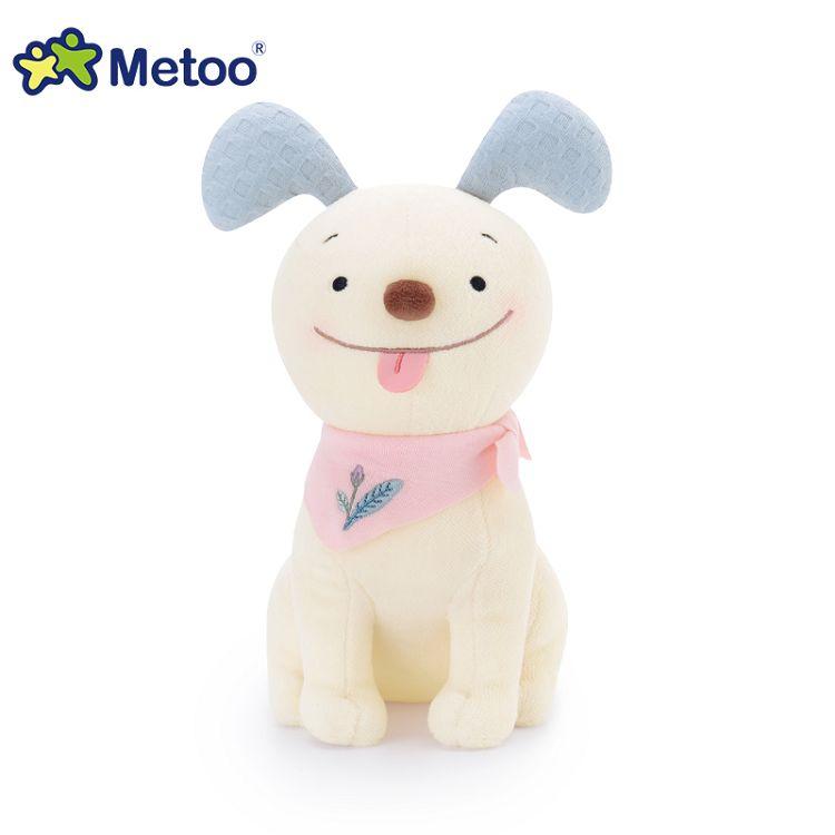 Metoo  25cm波波狗玩偶-藍