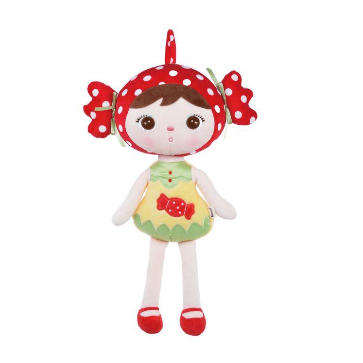 Metoo  45cm吉寶娃娃玩偶葫蘆款-紅糖果