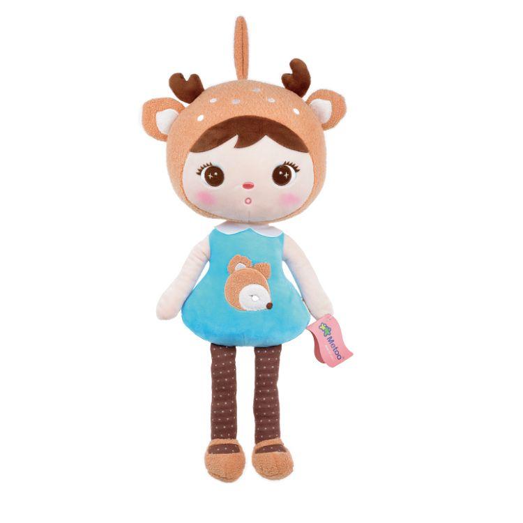 Metoo  22cm吉寶娃娃玩偶-鹿