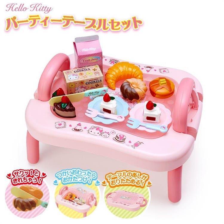 玩具派對餐桌-Kitty