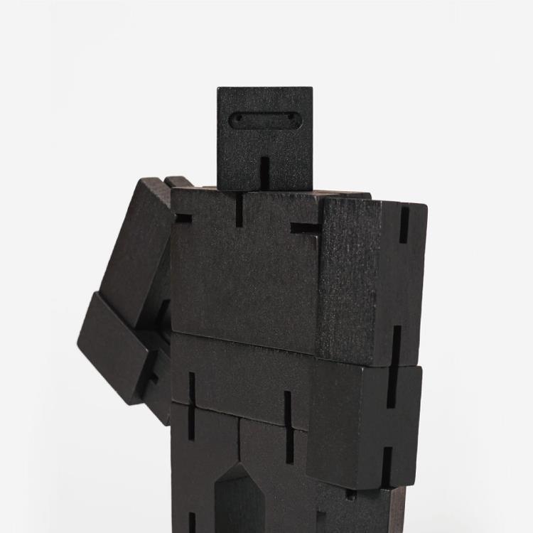 【Areaware】積木變形機器人(中)-黑
