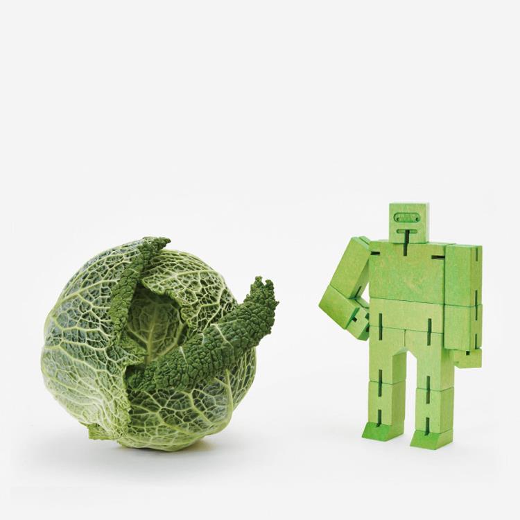 【Areaware】積木變形機器人(中)-綠